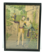 Early Cover Block Print Currier & Ives Soldier Leaves For War Lovers Par... - $83.31