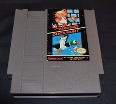 Nintendo Super Mario Bros. Duck Hunt game only - $8.00