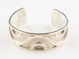 "Very Rare Taxco Mexico Silversmith ""Lico"" Cuff Bracelet - $311.85"