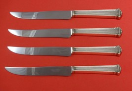 Theseum by International Sterling Silver Steak Knife Set 4pc Texas Sized Custom - $247.10