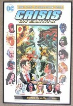 2017 CW Crisis on Earth-X Crossover Event Promo Poster Signed By Marc Gu... - $1,237.49