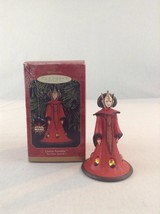 1999 Hallmark Keepsake Star Wars Episode 1 Queen Amidala Christmas Ornament - $8.59