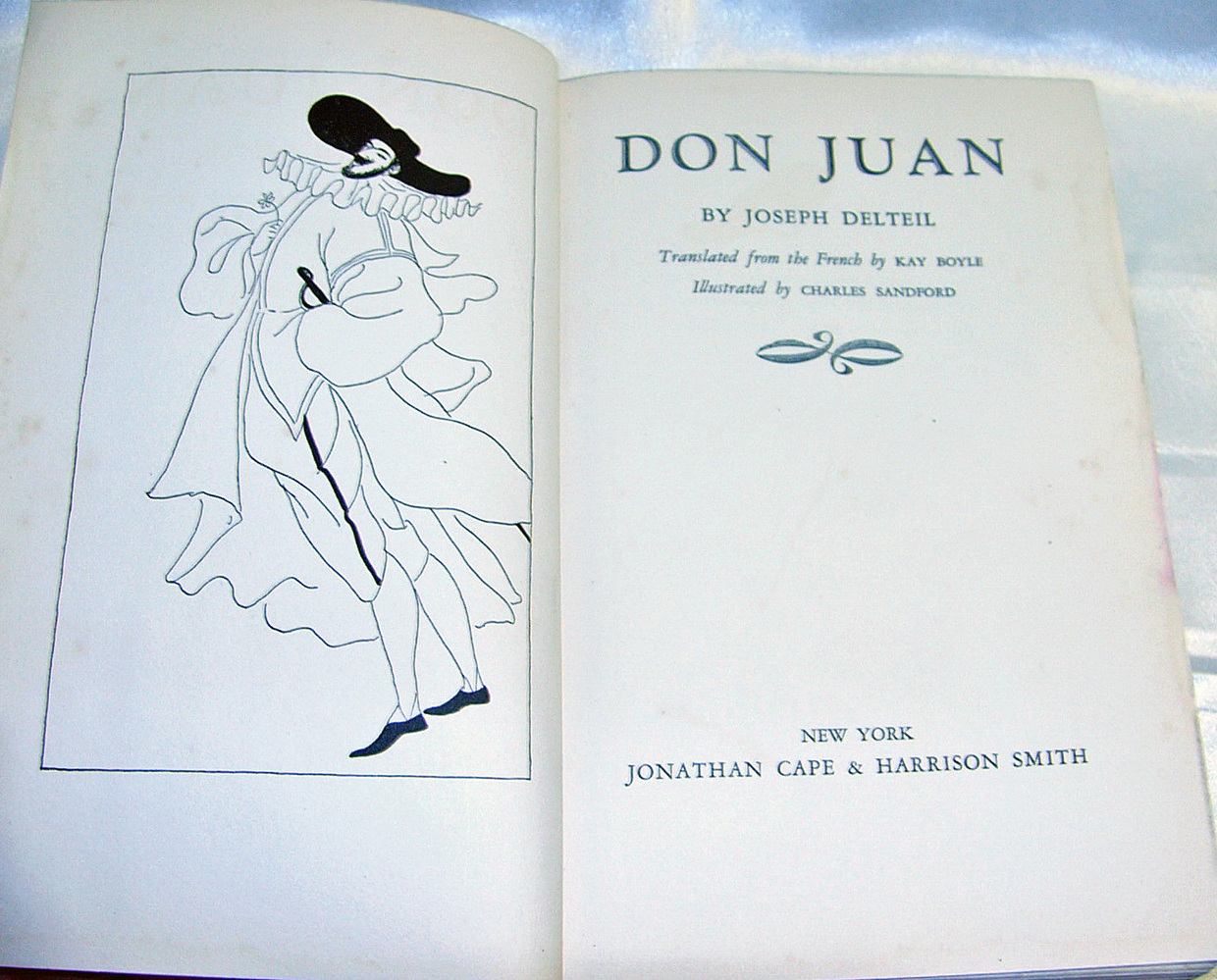 Don Juan by Joseph Delteil First Edition US 1931