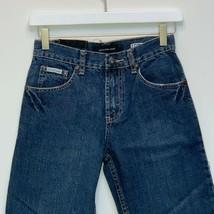Calvin Klein Girls Designer Blue Jeans Size 10 - $22.74