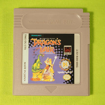 Dragon's Lair: The Legend (Nintendo Game Boy GB, 1991)  - $8.17