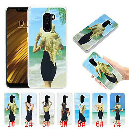 Primary image for Flowing Liquid Soft TPU Ultra Thin Back Cover Sexy Lady For Xiaomi Pocophone F1