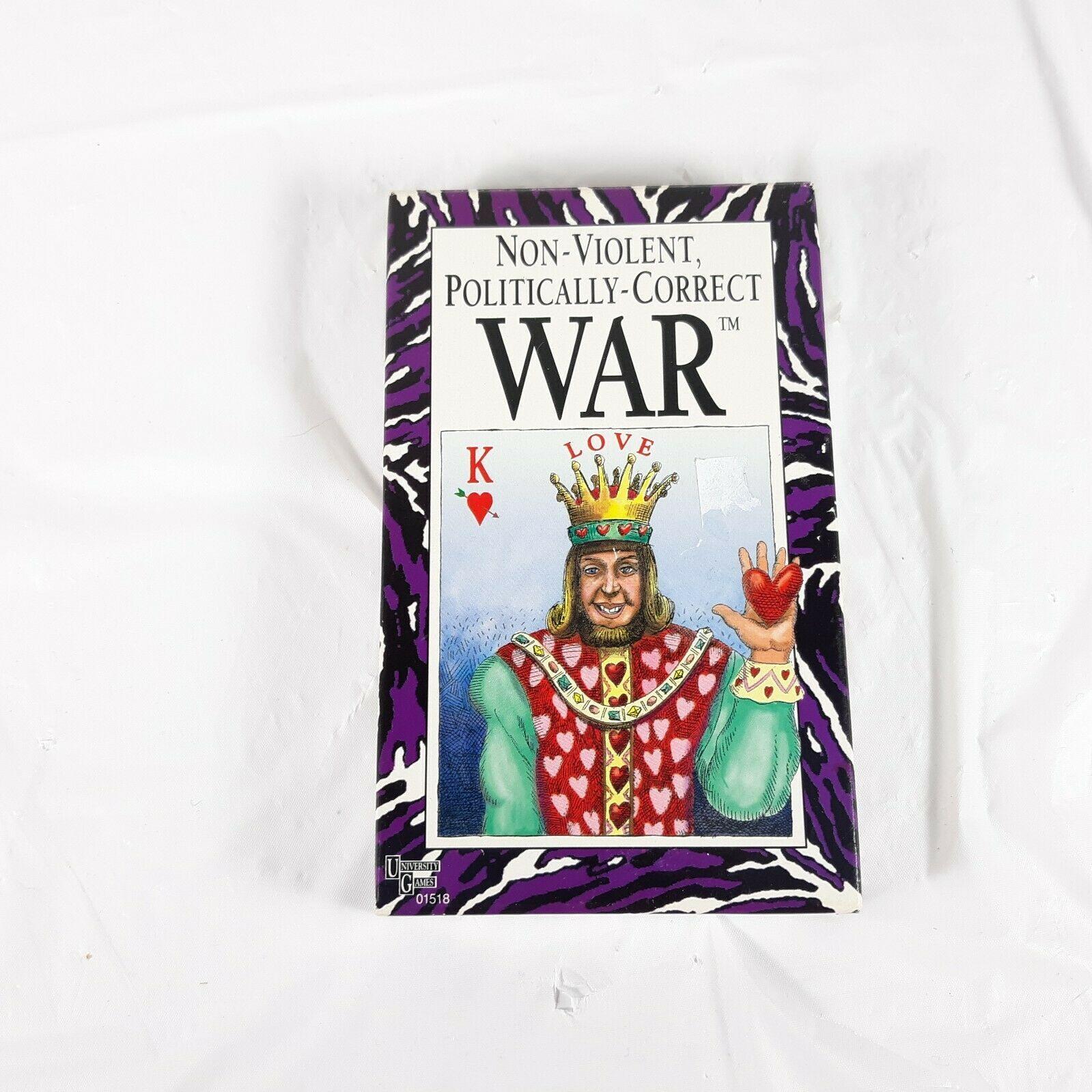 Non Violent Politically Correct War Card Game - $11.99