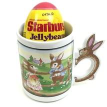 1997 AVON Easter Treats Bunny Rabbit Coffee Mug Tea New Original Box Vin... - $24.74