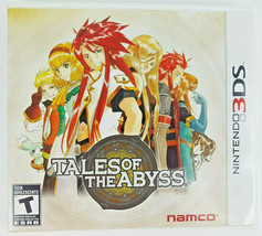 Tales of the Abyss (Nintendo 3DS, 2012) CIB Fantasy RPG Role Playing Gam... - $18.64