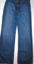 New J Brand Malik Jeans Womens 26 29 X 33 Tall Azul Pima Cotton Wide Jap... - $35.60