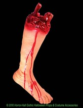 Realistic Life Size Bloody GORY SEVERED LEG FOOT Body Part Halloween Hor... - $15.81