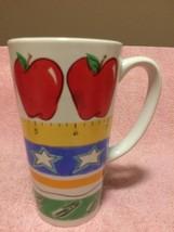PAPEL GIFTWARE  COFFEE MUG / CUP-TEACHER--SCHOOL--TALL / SLENDER--FREE S... - $16.95