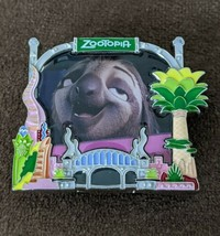 Disney Store Online Park Pack 2018 Zootopia Flash LE500 Pin 2 Of 3 - $17.81
