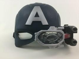 Captain America Civil War Mask Helmet Light up Toy Marvel Hasbro 2016 - $17.77