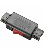 Plantronics 27708-01 In-Line Mute Switch for H-Series Headsets, QD to QD - $18.65