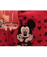 Disney Christmas Mickey Mouse Ladies Two Piece Pajama Set SZ SM - $28.00