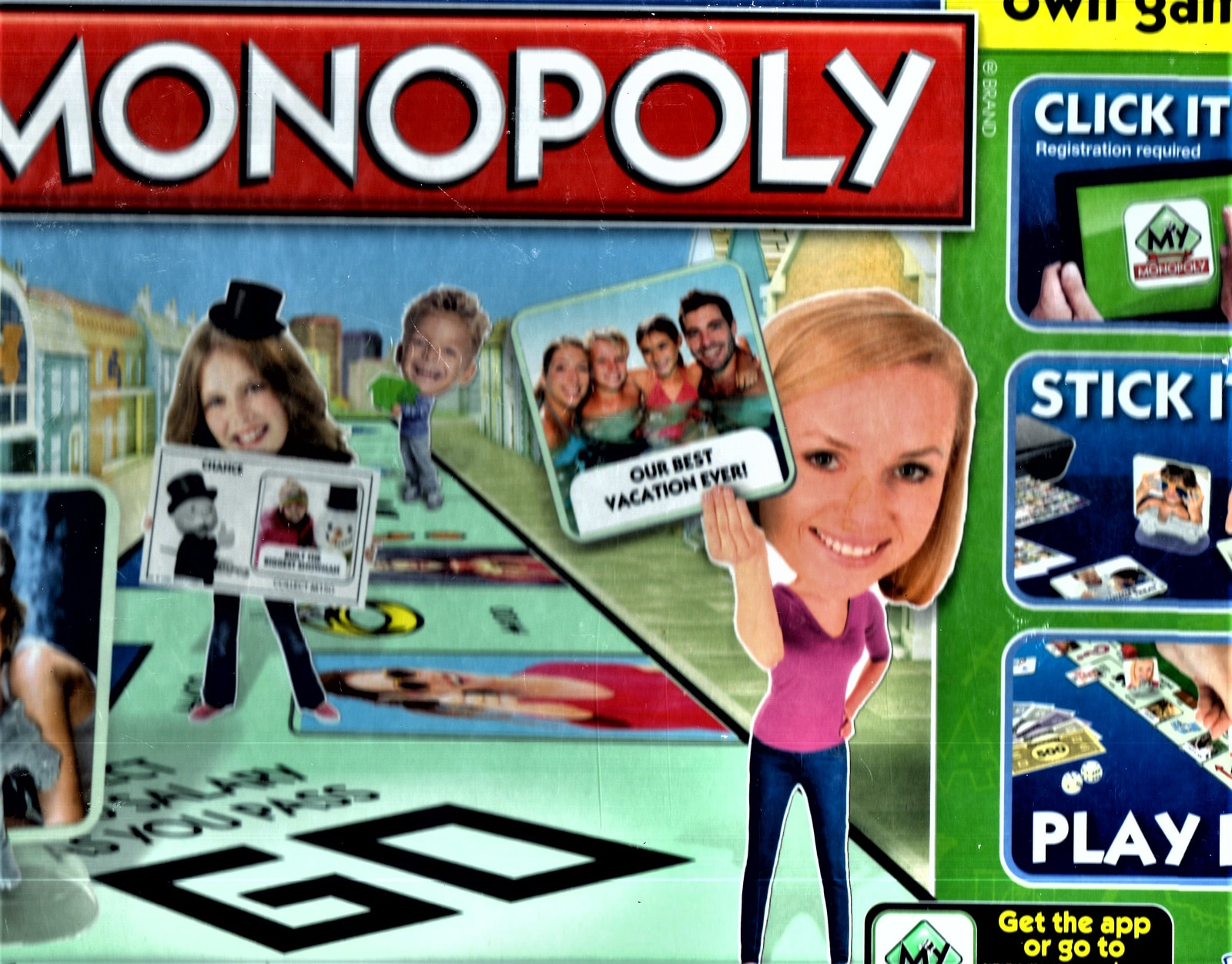 Monopoly - MY Monopoly game (New)
