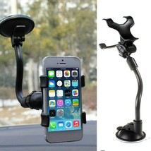 360 Degree Rotation Suction Cup Mount Windshield Mobile Phone Holder GPS... - £5.69 GBP