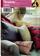 2005 Pillows Pattern 4600-s Uncut - $10.00