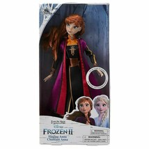 2019 Disney Store Authentic FROZEN 2 SINGING ANNA DOLL New/Sealed - $29.99