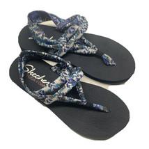 Skechers Yoga Foam Multi-Color Thong Sling Wedge Comfort Sandals Womens ... - $18.90