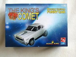 Factory Sealed AMT/Ertl King's Comet Mercury Cyclone Funny Car Kit #21466P-1HD - $34.99