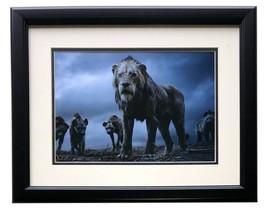 An item in the Art category: 2019 Lion King Framed Scar w/ Hyenas 11x14 Commemorative Disney Photo