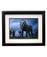 2019 Lion King Framed Scar w/ Hyenas 11x14 Commemorative Disney Photo - $118.79