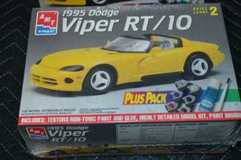"AMT / ERTL DODGE VIPER RT-10 ""Plus Pack"" #8655 Model Kit 1/25 Skill 2 (NEW) - $11.29"