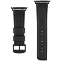 Case-Mate CM034431 Signature Leather Strap for 1.7-inch Apple Watch - Black - $32.37