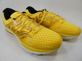 Saucony Triumph ISO 2 Size 9 M (D) EU 42.5 Men's Running Shoes Yellow S20338-1