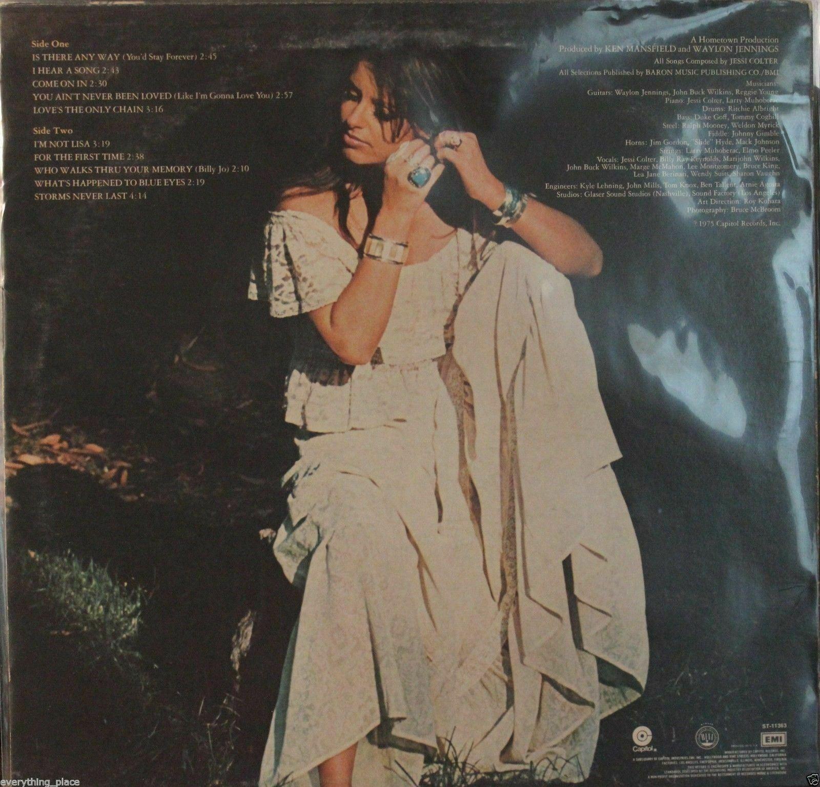 Jessi Colter I'm Jessi Colter Vinyl LP Record Album