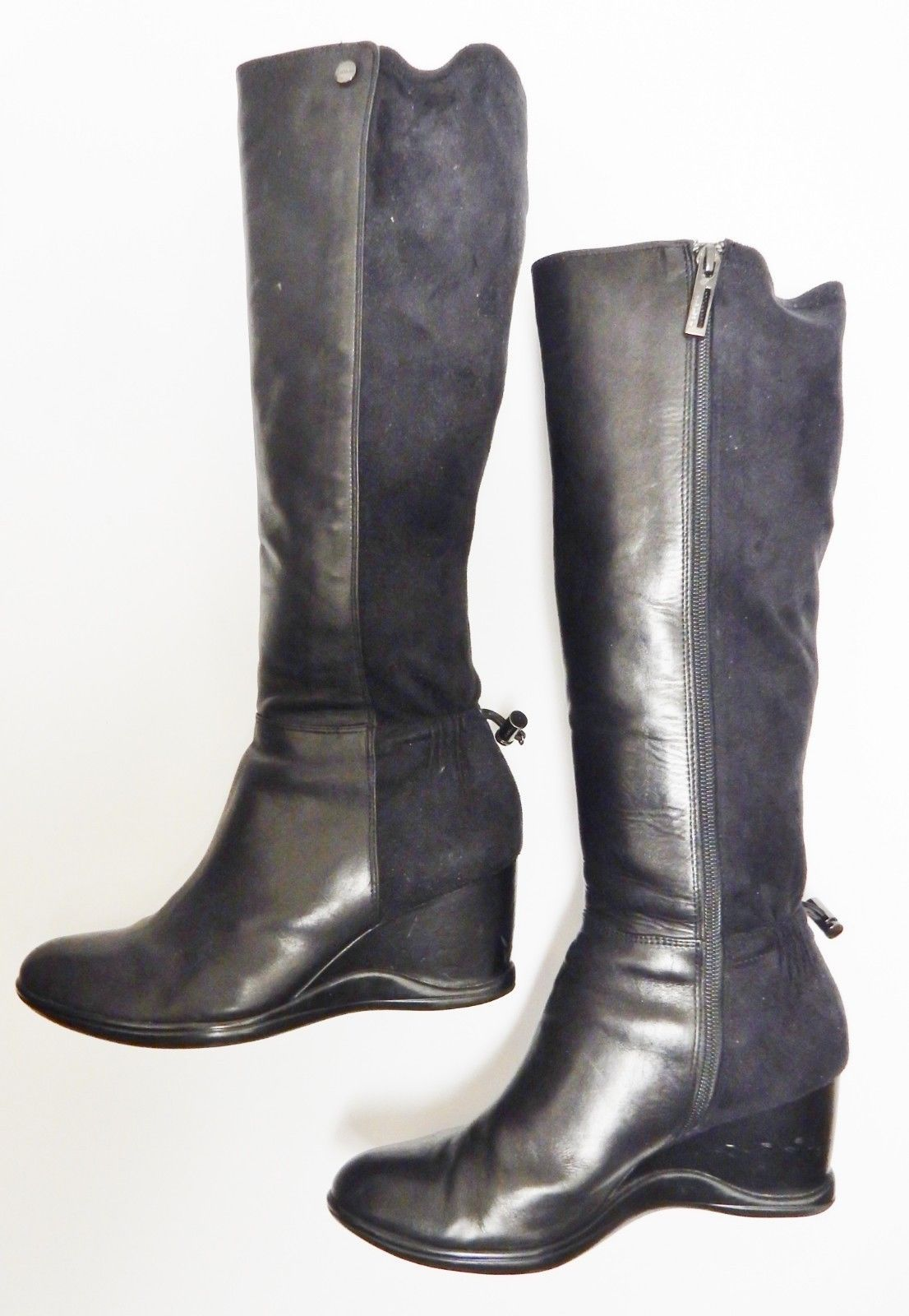 Calvin Klein Tall Boots Ilisa Leather And 23 Similar Items Calvin Klein Tall Boots Shoes