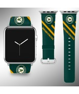 Oakland Athletics Apple Watch Band 38 40 42 44 mm Series 1 2 3 4 Wrist S... - $29.99+