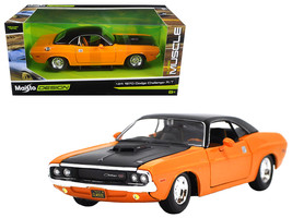 """1970 Dodge Challenger R/T Orange \""""Classic Muscle\"""" 1/24 Diecast Model Car  by M - $33.64"""