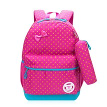 Backpack for Girls, Samaz Cute Dots Bookbag Shoulder School Bags for Teen Girls - $26.99