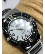 Revêtement Vintage Style Onyx Noir Pierre Bracelet Manchette Bracelet Mo... - $35.64