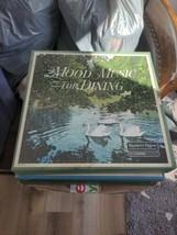 "Reader's Digest 10 12"" Vinyl Record LP Box Set ""Mood Music For Dining"" C... - $4.95"