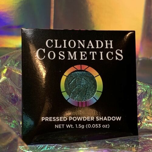 NWT NIB Clionadh Cosmetics JEWELLED MULTICHROME SINGLE PAN *ONE SHADE* CASTLE