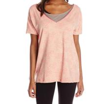 Medium 8-10 Lole Women's Ardha Top Reversible V-Neck Short Sleeve Shirt NEW