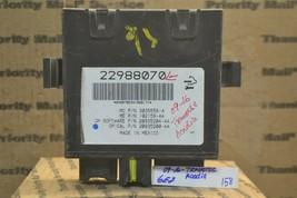 09-16 GMC Aadia Lift Gate Control Module Computer 22988070 158-6e7 - $16.99