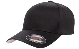 FLEXFIT 6277 BLANK HAT CURVED COTTON BLEND BILL FLEX FIT  *FREE SHIPPING... - $12.99