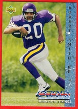 1993 Upper Deck #15 Robert Smith RC football card - $0.01