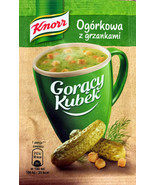 Knorr Goracy Kubek SOUP in a MUG: Dill PICKLE soup -Made in Poland-Pack ... - $9.41
