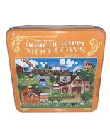"""Roger Nannini 1000 Pc Jigsaw Puzzle 20""""x27"""" Home of Happy Moo Cows - $21.28"""