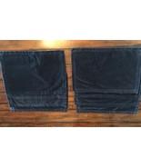 POTTERY BARN Blue Velvet Placemats- SET OF 8 PLACE MATS! - $59.39