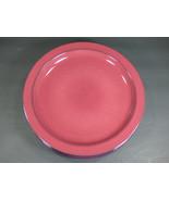 "SET OF 5 - MIKASA CHROMATIC BURGUNDY 11-1/8"" DINNER PLATES - EXCELLENT USED - $58.80"