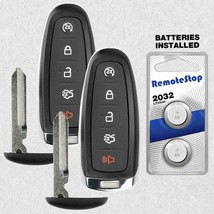 2 For 2011 2012 2013 2014 2015 Ford Edge Keyless Smart Prox Remote Key Fob - $56.31