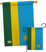 Rwanda - Impressions Decorative Flags Set S108292-BO - $57.97