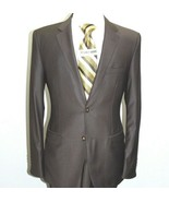 Men Suit Massimo Rossi Turkey European Slim Single breasted Soft Wool Br... - $77.97